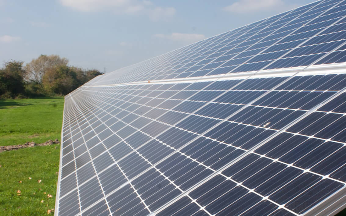 Bilsham Farm Solar Park, West Sussex