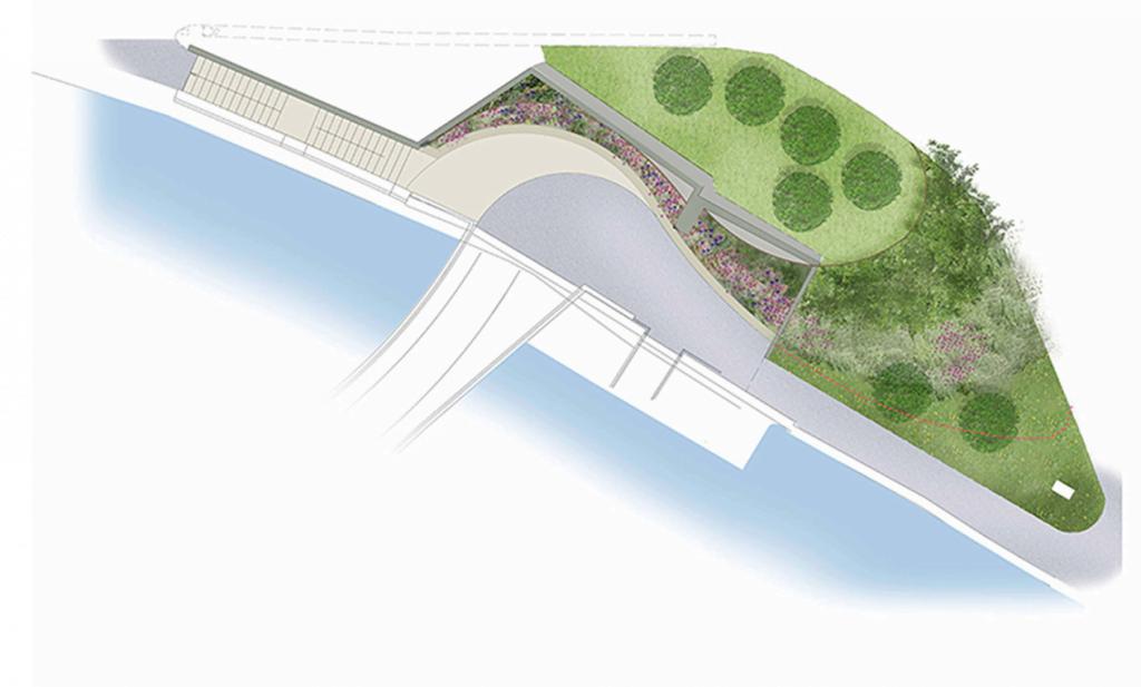 Bridging the Gap in the heart of Bristol (Finzels Bridge)