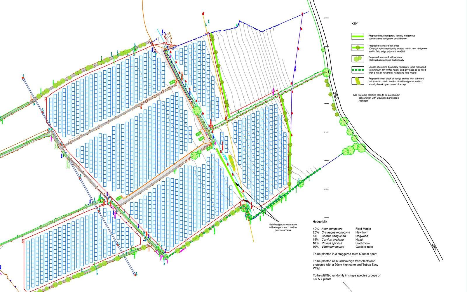 Towerbrook Solar Park, North Somerset